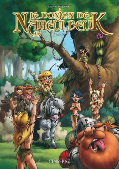 Couverture Le donjon de Naheulbeuk (BD), tome 14 : Cinquième saison, partie 1
