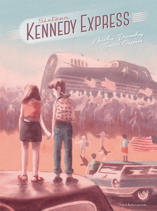 Couverture Sixteen Kennedy Express