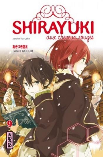 Couverture Shirayuki aux cheveux rouges, tome 09