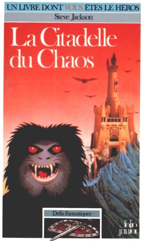 Couverture La citadelle du chaos