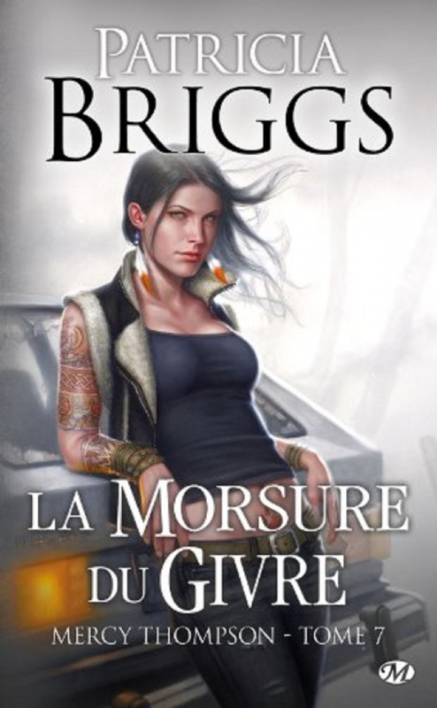Couverture Mercy Thompson, tome 07 : La morsure du givre