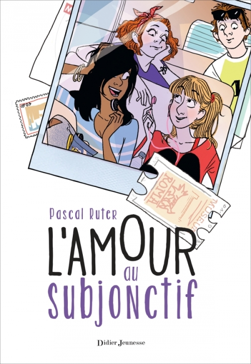 Couverture L'amour au subjonctif