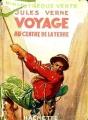 Couverture Voyage au centre de la Terre Editions Hachette (Bibliothèque Verte) 1930