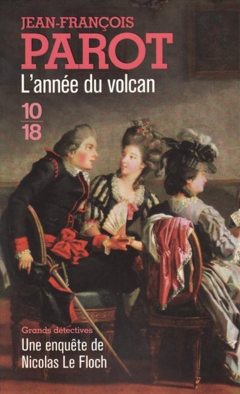 Couverture L'année du volcan