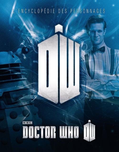 Couverture Doctor Who, l'encyclopédie des personnages