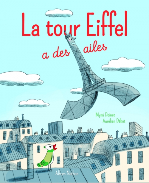Couverture La tour Eiffel a des ailes