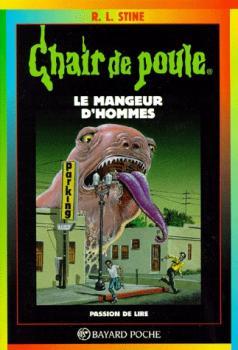 Couverture Chair de poule, tome 41 : Le Mangeur d'hommes