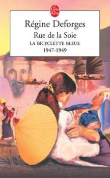 Couverture La Bicyclette bleue, tome 05 : Rue de la soie