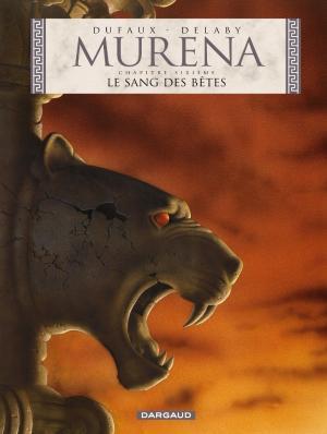 Couverture Murena, tome 06 : Le sang des bêtes
