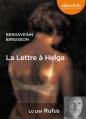 Couverture La lettre à Helga Editions Audiolib 2014