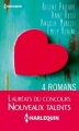Couverture 4 romans Editions Harlequin 2013