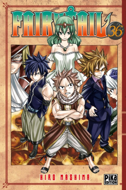 Couverture Fairy Tail, tome 36
