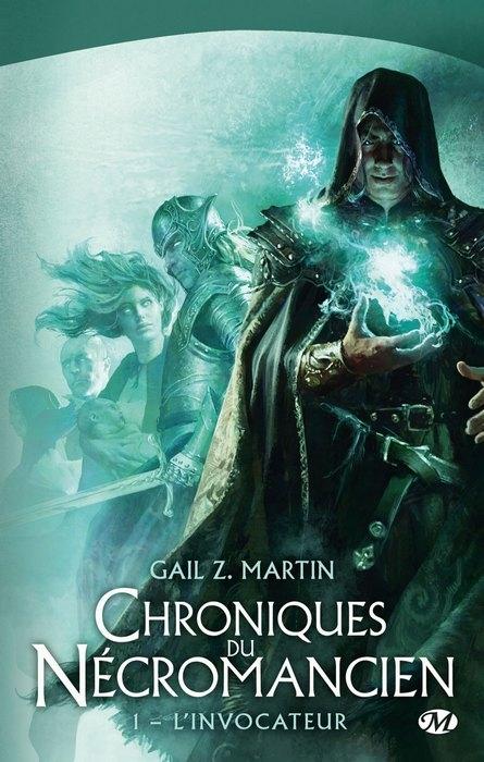 Couverture Chroniques du nécromancien, tome 1 : L'invocateur
