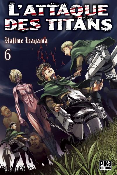 Couverture L'attaque des Titans, tome 06
