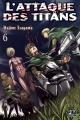 Couverture L'attaque des Titans, tome 06 Editions Pika (Seinen) 2014