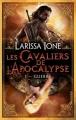 Couverture Les Cavaliers de l'Apocalypse, tome 1 : Guerre Editions Bragelonne 2013