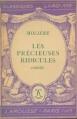 Couverture Les Précieuses ridicules Editions Larousse (Classiques) 1942