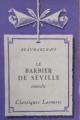 Couverture Le Barbier de Séville Editions Larousse (Classiques) 1934