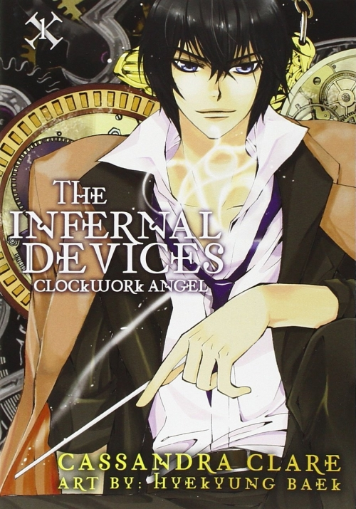 Couverture The Infernal Devices, book 1: Clockwork angel