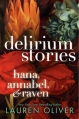 Couverture Delirium Stories Editions HarperCollins 2013
