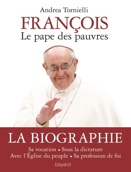 Couverture François, le pape des pauvres