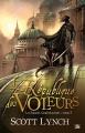 Couverture Les Salauds Gentilshommes, tome 3 : La République des voleurs Editions Bragelonne (Fantasy) 2014