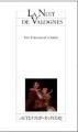 Couverture La nuit de Valognes Editions Actes Sud 2011