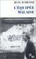 Couverture L'Équipée malaise Editions de Minuit (Double) 1999