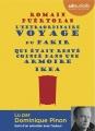 Couverture L'extraordinaire voyage du fakir qui était resté coincé dans une armoire Ikea Editions Audiolib 2014