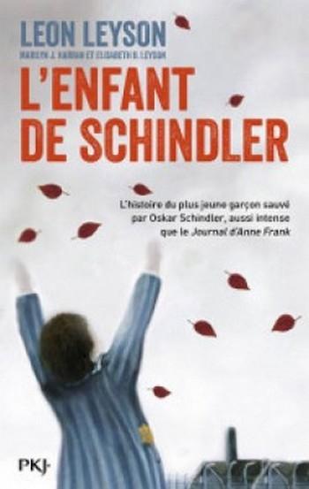 Couverture L'enfant de Schindler