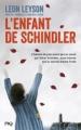 Couverture L'enfant de Schindler Editions Pocket (Jeunesse) 2014