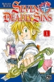 Couverture Seven Deadly Sins, tome 01 Editions Pika (Shônen) 2014