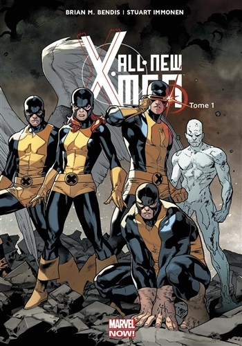 Couverture All-New X-Men (Marvel Now), tome 1 : X-Men d'hier