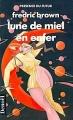 Couverture Lune de miel en enfer Editions Denoël (Présence du futur) 1990
