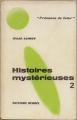 Couverture Histoires mystérieuses, tome 2 Editions Denoël (Présence du futur) 1969