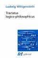 Couverture Tractatus logico-philosophicus Editions Gallimard  (Tel) 1993