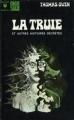 Couverture La Truie et autres histoires secrètes Editions Marabout (Fantastique) 1972