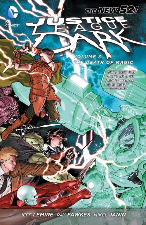 Couverture Justice League Dark (Renaissance), book 3: The Death of Magic