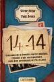 Couverture 14-14 Editions Castelmore 2014