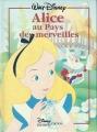 Couverture Alice au pays des merveilles Editions Disney / Hachette 1994