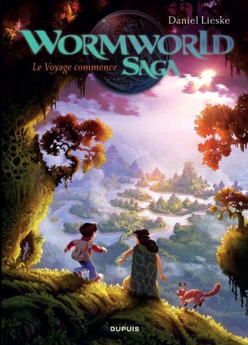 Couverture Wormworld Saga, tome 1 : Le voyage commence