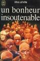 Couverture Un bonheur insoutenable Editions J'ai Lu 1972
