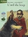Couverture L'oeil du loup Editions Nathan (Pleine lune - Aventure) 2002