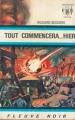 Couverture Dan Seymour, tome 3 : Tout commencera... hier Editions Fleuve (Noir - Anticipation) 1968