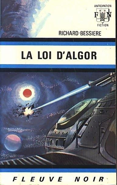 Couverture Dan Seymour, tome 6 : La Loi d'Algor