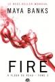 Couverture A fleur de peau, tome 3 : Fire Editions Milady (Romantica) 2014