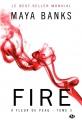 Couverture À fleur de peau (Banks), tome 3 : Fire Editions Milady 2015
