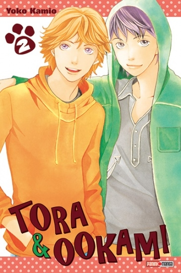 Couverture Tora & Ookami, tome 2