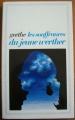 Couverture Les souffrances du jeune Werther Editions Flammarion (GF) 1982