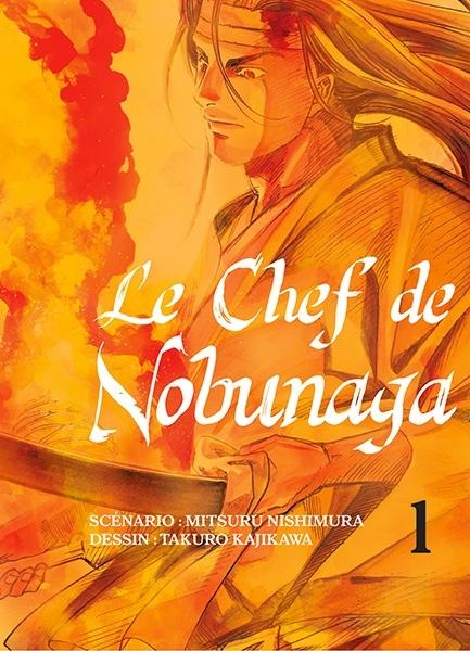 Couverture Le chef de Nobunaga, tome 01